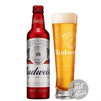 Bia Budweiser 5% – Chai Nhôm 475ml – Thùng 24 Chai