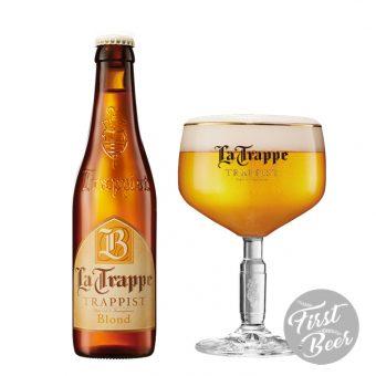 Bia La Trappe Blond 6,5% – Chai 330ml