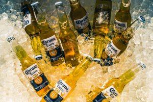 bia corona ướp đá