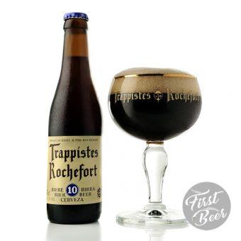 bia Rochefort 10 trappist beer