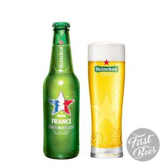 Bia Heineken Pháp 5% – Chai 250ml