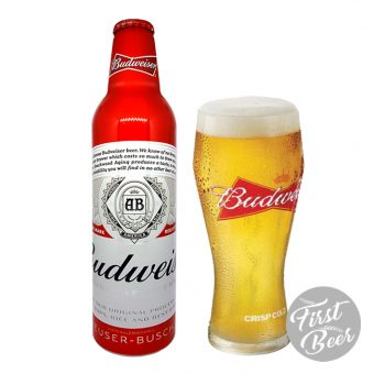 Bia Budweiser 5% – Chai Nhôm 475ml