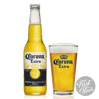 Bia Corona Extra 4,6% – Chai 355ml – Thùng 24 Chai