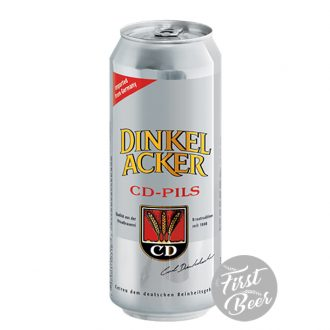 Bia Dinkelacker CD Pils 4.9% – Lon 500ml – Thùng 24 Lon