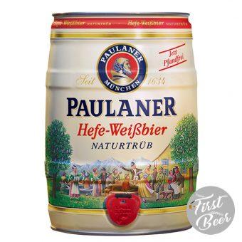 Bia Paulaner Hefe Weissbier 5,5% – Bom 5l