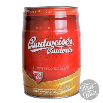 Bia Budweiser Budvar 5% – Bom 5l