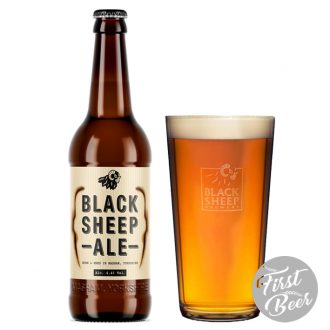 Bia Black Sheep Ale - Chai 500ml