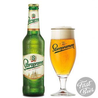 Bia Staropramen chai 330ml - bia tiệp nhập khẩu