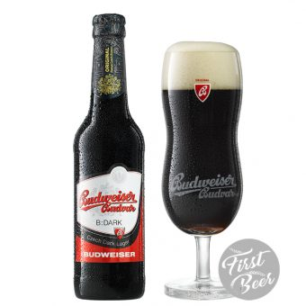 budweiser budvar đen chai 330ml