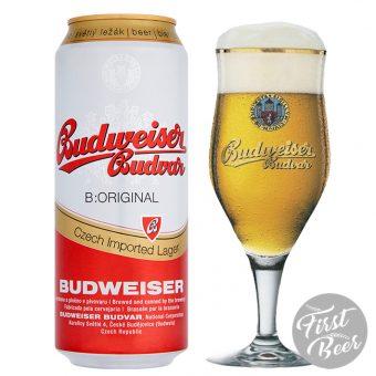 bia budweiser budvar vàng lon 500ml