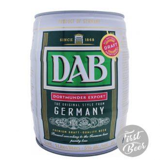 Bia DAB 5% - Bom 5l - Thùng 2 Bom