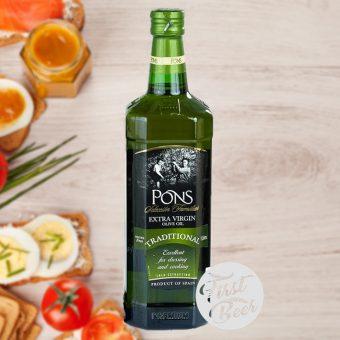 dầu olive pons 1l