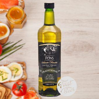 dầu olive pons 1l chai nhựa