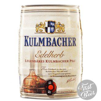 Bia Kulmbacher Edelherb Pils 4,9% – Bom 5 Lít – Thùng 2 Bom