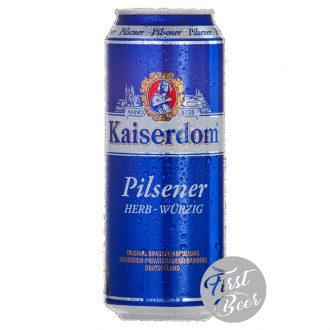 Bia Kaiserdom Pilsener 4.8% – Lon 500ml – Thùng 24 Lon