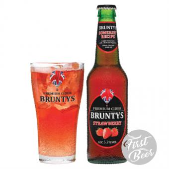 Bruntys Cider hương dâu