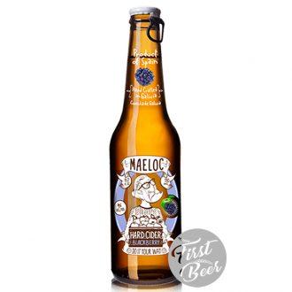 Bia trái cây Maeloc Táo Mâm xôi 4.0% – Chai 330ml – Thùng 24 Chai