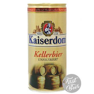 Bia Kaiserdom Kellerbier 4.7% – Lon 1lit – Thùng 12 Lon