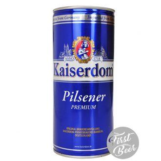 Bia Kaiserdom Pilsener 4.8% – Lon 1lit – Thùng 12 Lon