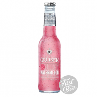 Rượu Trái Cây Vodka Cruiser Juicy Watermelon 4,6% – Chai 275ml – Thùng 24 Chai
