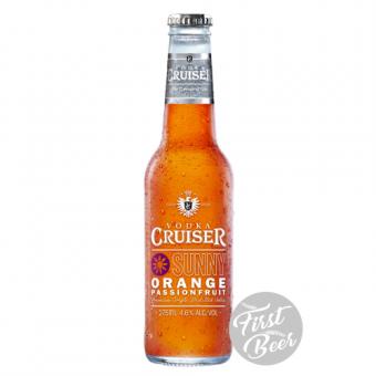 Rượu Trái Cây Vodka Cruiser Sunny Orange 4,6% – Chai 275ml – Thùng 24 Chai