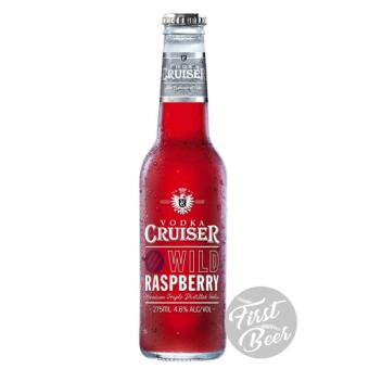 Rượu Trái Cây Vodka Cruiser Wild Raspberry 4,6% – Chai 275ml – Thùng 24 Chai
