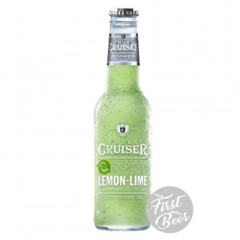 Rượu Trái Cây Vodka Cruiser Zesty Lemon & Lime 4,6% – Chai 275ml – Thùng 24 Chai