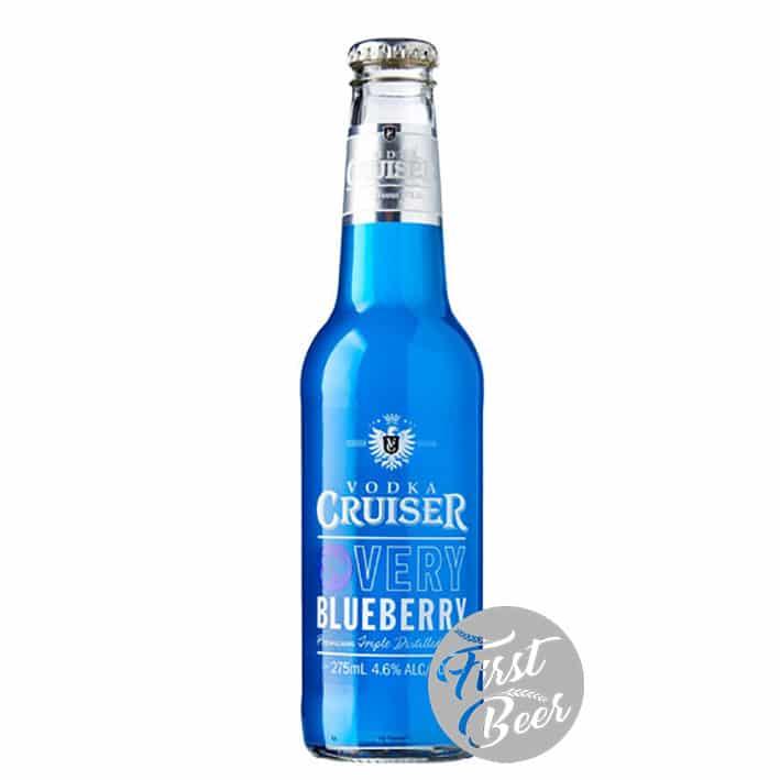 Rượu Trái Cây Vodka Cruiser Very Blueberry 4,6% – Chai 275ml – Thùng 24 Chai