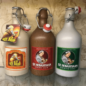 bia chai sứ của bỉ
