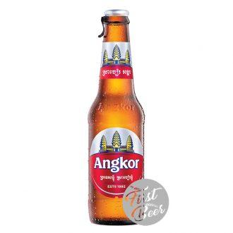 Bia Angkor 5.0% – Chai 330ml – Thùng 24 Chai