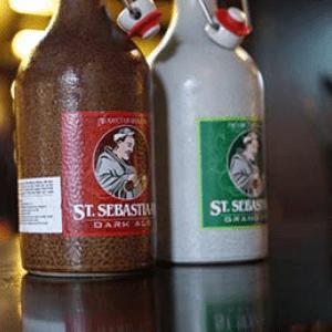 bia chai sứ quà tặng