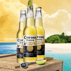 hương vị bia corona