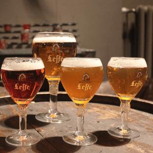 uống bia leffe đúng cách