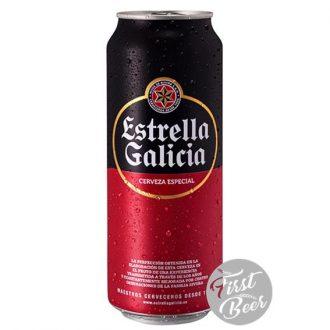 Bia Estrella Galicia 5.5% – Lon 500ml – Thùng 24 Lon