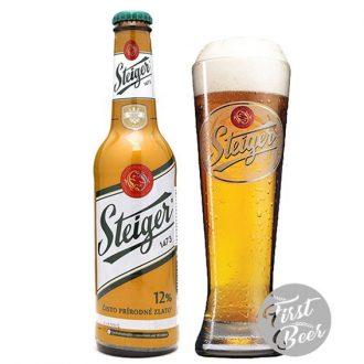 Bia Steiger 1473 Gold 5,0% – Chai 330ml – Thùng 24 Chai
