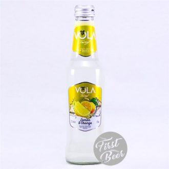 Nước Trái Cây Lên Men Vola Lemon & Orange 4.5% – Chai 275ml – Thùng 12 Chai
