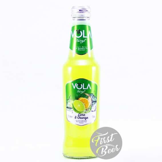 Nước Trái Cây Lên Men Vola Lime & Orange 4.5% – Chai 275ml – Thùng 12 Chai