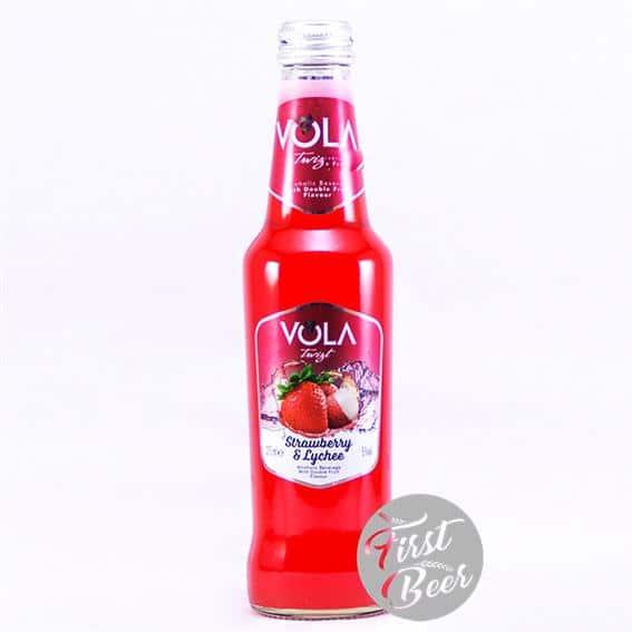 Nước Trái Cây Lên Men Vola Strawberry & Lychee 4.5% – Chai 275ml – Thùng 12 Chai