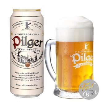 Bia Paderborner Pilger Original 5% – Lon 500ml – Thùng 24 Lon