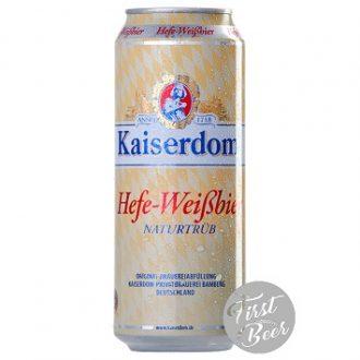 Bia Kaiserdom Hefe Weissbier 4.7% – Lon 500ml – Thùng 24 Lon