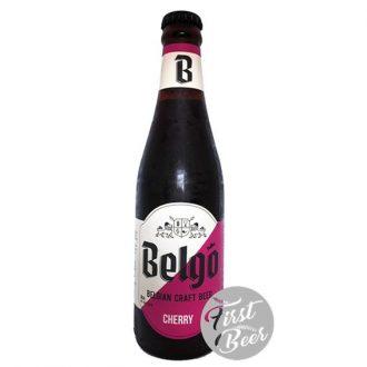 Bia thủ công Bỉ Belgo Cherry 3,5% - Chai 330ml - Thùng 24 chai
