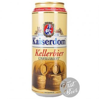 Bia Kaiserdom Kellerbier 4.7% – Lon 500ml – Thùng 24 Lon