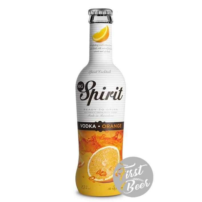 Rượu Trái Cây MG Spirit Vodka Orange 5,5% – Chai 275ml – Thùng 24 Chai