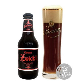 Bia Eibauer Zwick'l Dunkel 6,7% – Chai 250ml – Thùng 20 Chai