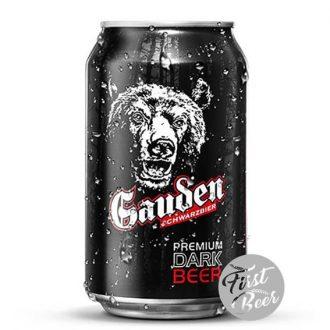 Bia Gauden Schwarzbier 5.2% – Lon 330ml – Thùng 24 Lon