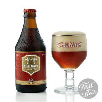 Bia Chimay Đỏ 7% – Chai 330ml – Thùng 24 Chai