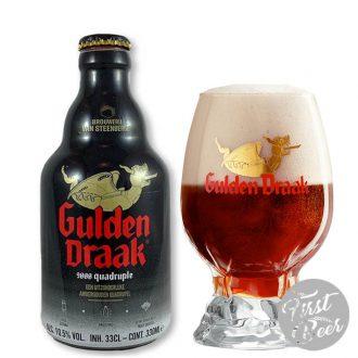 Bia Gulden Draak 9000 10,5% – Chai 330ml – Thùng 24 Chai