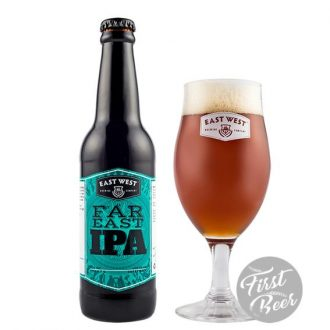 Bia East West Far East IPA 6,7% – Chai 330ml – Thùng 24 Chai