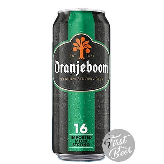 Bia Oranjeboom Mega Strong 16% – Lon 500ml – Thùng 24 Lon