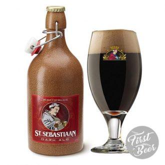 Bia Sứ St. Sebastiaan Dark 6,9% – Chai 500ml – Thùng 6 Chai